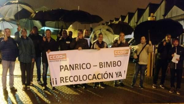 Trabajadores de Bimbo exigen el cumplimiento de la recolocación