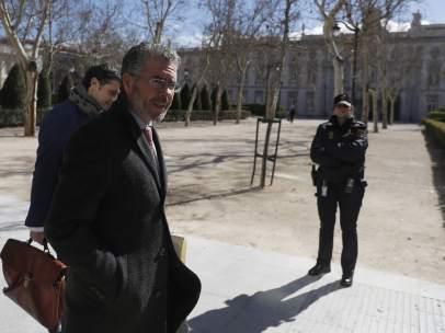 Francisco Granados, camino del juzgado