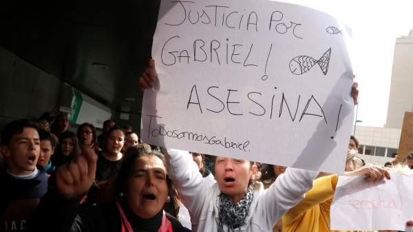 Protesta por Gabriel