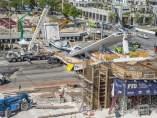 Se derrumba un puente en Miami