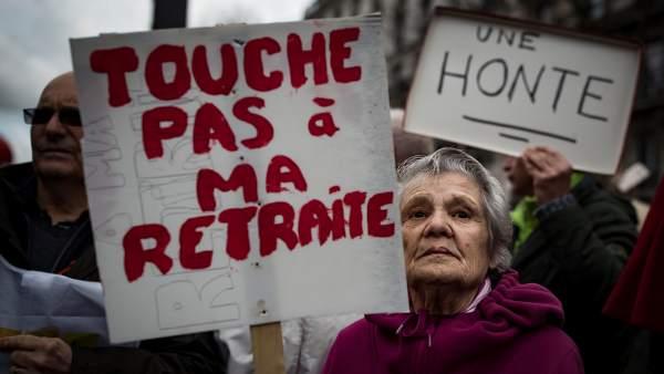 Pensionistas franceses