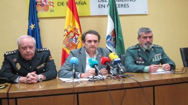 Bote, Núñez y Ros, datos de criminalidad de la provincia