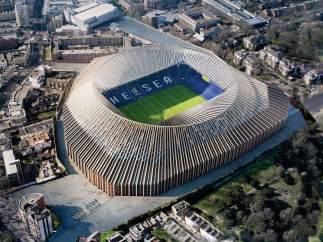 El proyecto del futuro Stamford Bridge