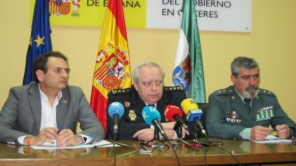 Julio Ros, comisario de Policía Nacional de Cáceres