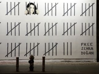 Banksy pide la liberación de Zehra Dogan