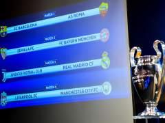 Sorteo de cuartos de Champions: Juventus - R. Madrid, Barça - Roma y Sevilla - Bayern Múnich