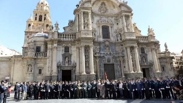 Policía Local de Murcia celebra el día de San Patricio