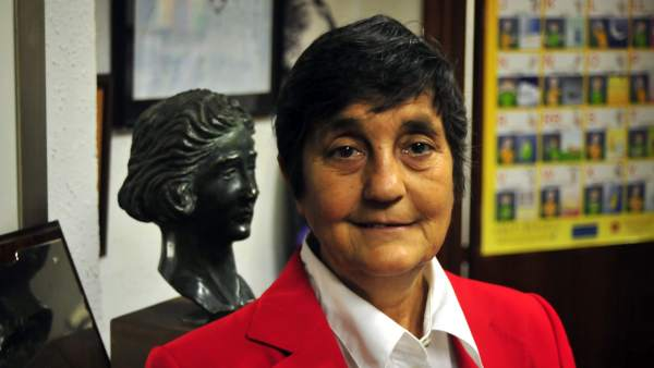 Blanca Estrella, presidenta de la Asociación Clara Campoamor.