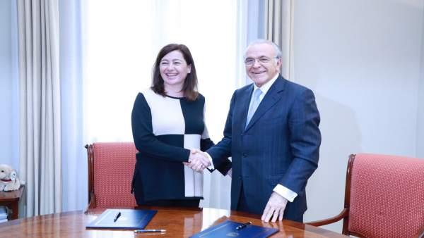 Acuerdo entre Armengol y Fainé