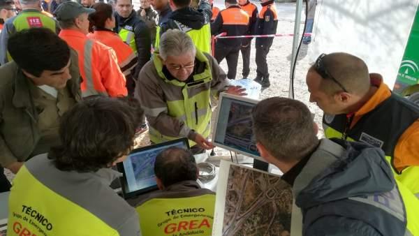 Dispositivo de búsqueda de Antonio Ortega en Torremolinos