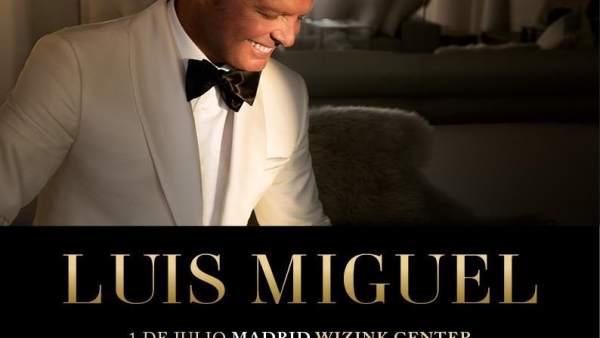 Luis Miguel actuará en verano en Sevilla y Marbella