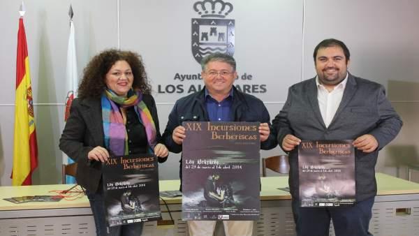 Bastida, Olmos y Giménez presentan programación de XIX Incursiones Berberiscas