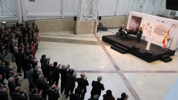 Inauguración de la exposición 'Galicia universal'
