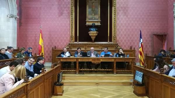 Pleno extraordinario del Consell de Mallorca