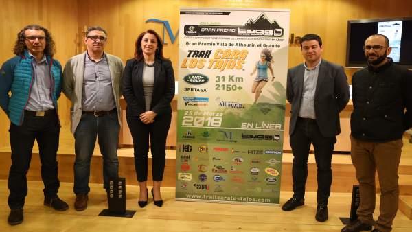 Trail Los Tajos, presentación