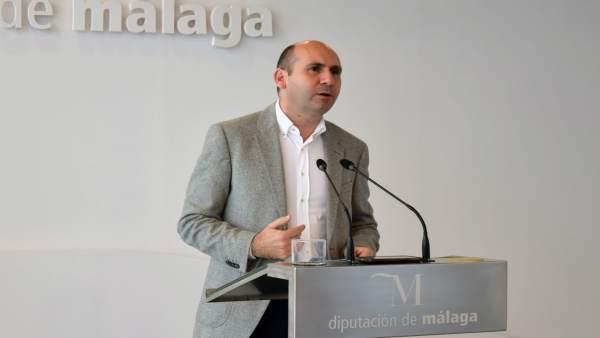 Francisco Conejo PSOE portavoz en Diputación de Málaga