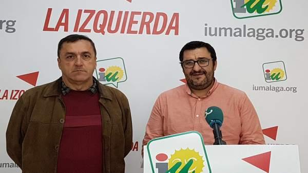 Guzman Ahumanda y Cubillo en rueda de prensa