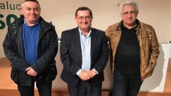 Encuentro entre PSOE, UGT y CCOO sobre pensiones