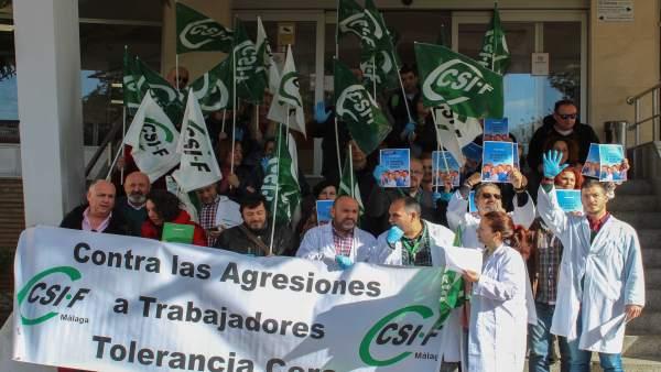 Manifestación Agresiones Médicos