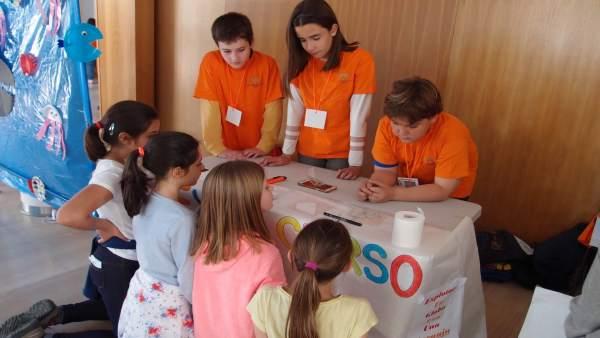 Escolares aprenden un uso responsable de los recursos energéticos