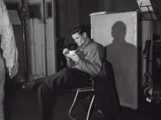 Chet Baker en el Estudio Magellan, París, 1955. Jean-Pierre Leloir