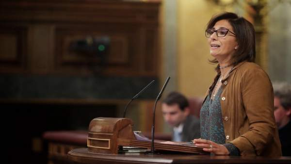 La diputada del PP por Murcia, Isabel Borrego