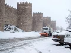 La nieve y el viento ponen en alerta a 32 provincias este sábado