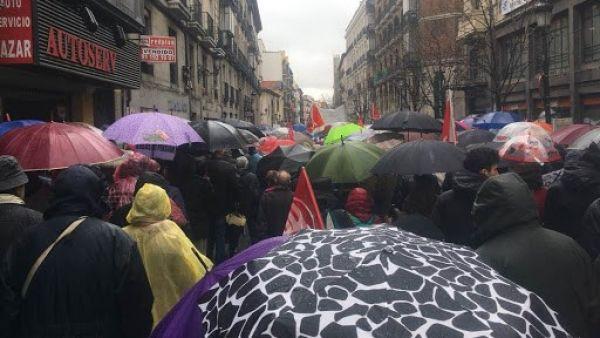 """Jubilados en Madrid: """"Queremos justicia, no limosnas"""""""