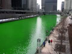 Chicago vuelve a teñir de verde su río por San Patricio