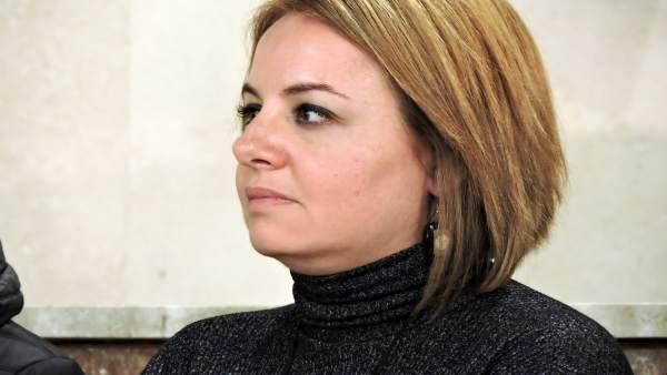 La viceportavoz del PSOE en el Ayuntamiento de Almería, Carmen Núñez
