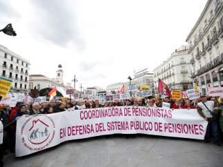 Manifestación de Madrid, por la tarde