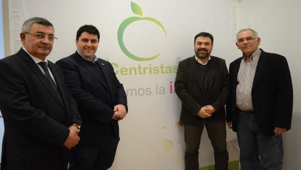 José Antonio Bibián, David García, José Luis Méndez y Francisco Martín