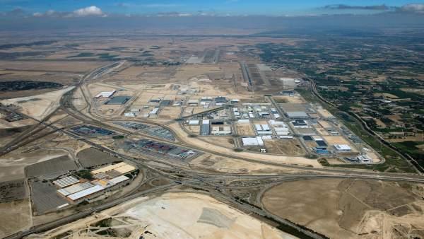 Vista aérea de Plaza.