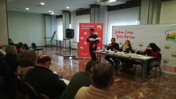 Reunión de la Coordinadora Provincial de IULV-CA Córdoba