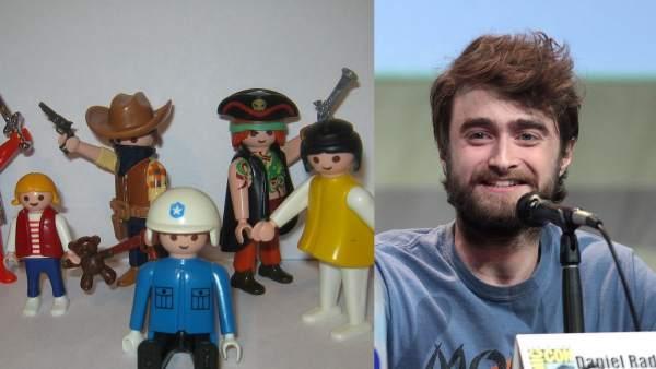 Playmobil y Daniel Radcliffe