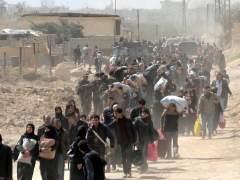 Miles de personas huyen de Guta mientras se desarrollan negociaciones