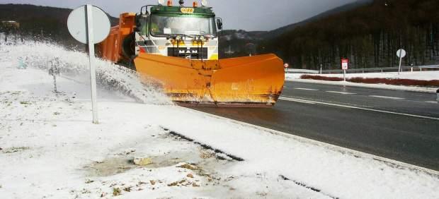 El Gobierno de Navarra movilizará hasta 29 quitanieves ante la previsión de que se produzcan nevadas