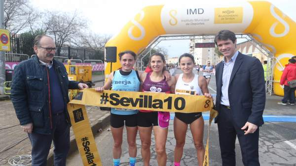 Carrera popular del circuito Sevilla 10