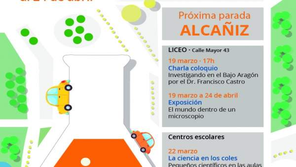 Ruta científica del IACS por Aragón.