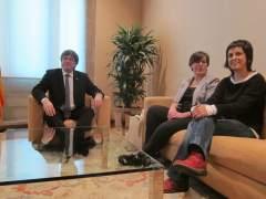 Puigdemont se reunirá este lunes con Gabriel (CUP) en Ginebra para abordar la agenda política