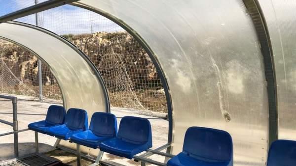 Campo de fútbol de Las Fuentezuelas de Jaén