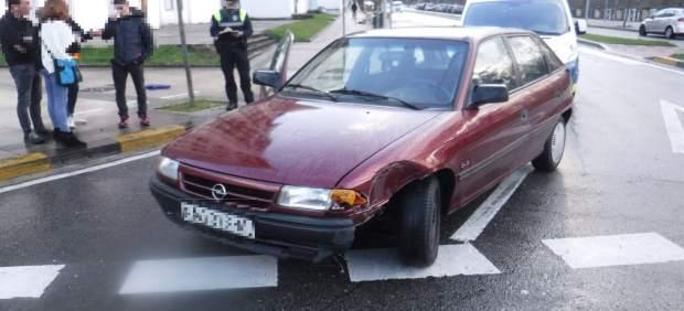 Policía Municipal de Pamplona atiende este fin de semana cuatro accidentes de tráfico con un herido