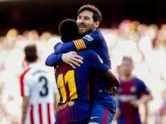 Cómodo triunfo del Barça ante un Athletic sin resistencia