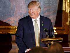 El presidente de EE UU, Donald Trump