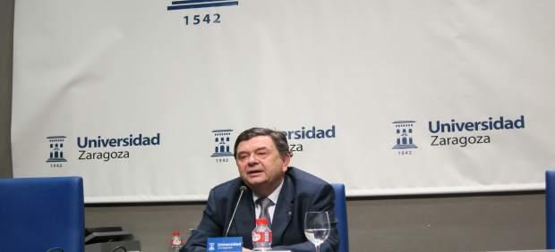 """CHA muestra su """"solidaridad y apoyo"""" a la familia y allegados del exrector de la Universidad de Zaragoza"""