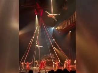 Muere un acróbata del Circo del Sol