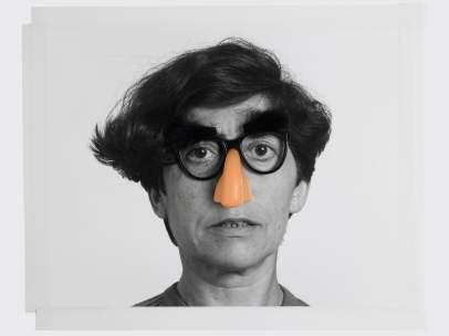 Esther Ferrer. Autorretrato del estilo marxista, 1989