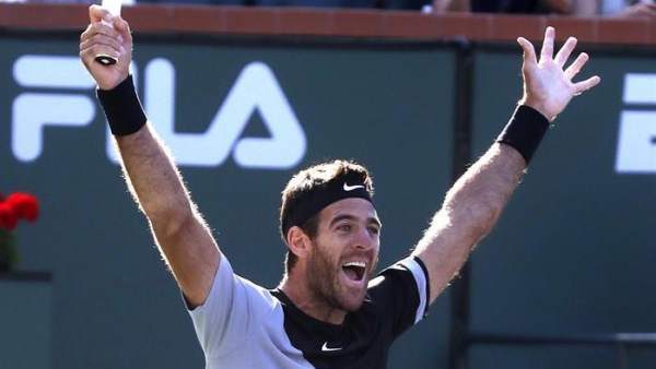 Del Potro, campeón en Indian Wells
