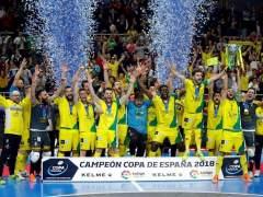 El Jaén conquista su segunda Copa de España de fútbol sala