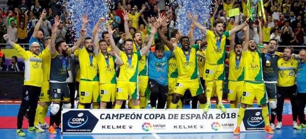 Jaén, campeón de la Copa España de fútbol sala